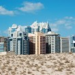 Dubai, Greens area. UAE — Stock Photo