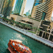 Stock Photo: Gulf in Dubai Marina, UAE