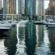 Stock Photo: Yacht Club in Dubai Marina