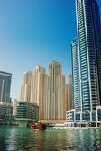 Gulf in Dubai Marina, UAE — Stock Photo