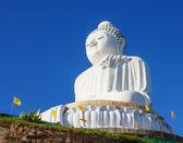La statua in marmo del grande buddha — Foto Stock