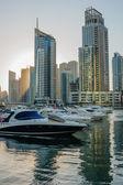 Yacht Club in Dubai Marina — ストック写真