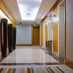 Hotel corridor — Stock Photo