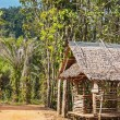 Photo: Old wooden house in tropics