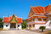Black monk temple in the south of Thailand — Stok fotoğraf