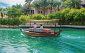 Views of Madinat Jumeirah hotel — Stock Photo