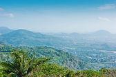 Panoramic view from the hill Big Buddha in Phuket Thailand — Stock Photo