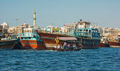 Port Said commercial port of Dubai — Stock Photo