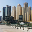 Modern buildings in Dubai Marina — Stock Photo #27789825