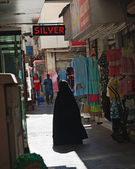 Rue marché dubai deira émirats arabes unis — Photo