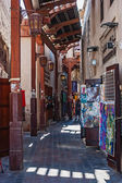 Street Market in Dubai UAE — Stock Photo
