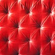 Stock Photo: Vintage red padding cushion texture