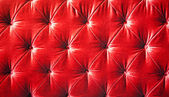 Vintage red padding cushion texture — Stock Photo