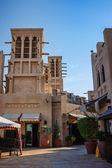 Wiatr wieże - tradycyjnej architektury arabskiej — Zdjęcie stockowe