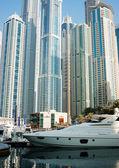 Yacht club v dubai marina — Stock fotografie
