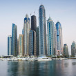 Dubai Marina at sunset — Stock Photo #29357291