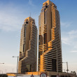 Stock Photo: Dubai Marina at sunset