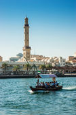 Traditional Arab ferries — Stock Photo