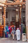 Street Market in Dubai Deira UAE — Stock Photo