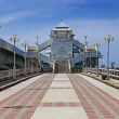 Sarasin bridge between the mainland and the island of Phuket Tha — Stock Photo