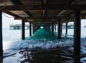 Pod mostem — Zdjęcie stockowe