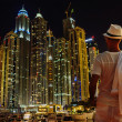 Dubai Marinat night — Stock Photo #30531423
