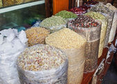 Spices on the Arab market, souk — Stock Photo