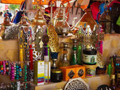 Market with eastern souvenirs — Stock Photo