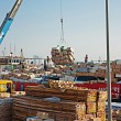 Stock Photo: Loading ship in Port Said, Dubai