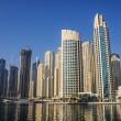 Modern buildings in Dubai Marina — Stock Photo #31097537