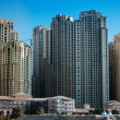Modern buildings in Dubai Marina — Stock Photo