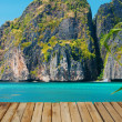 Maya bay of Phi-Phi island,Thailand — Stock Photo