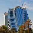 Jumeirah Beach Hotel in Dubai. — Stock Photo