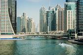 Hochhäuser in dubai marina — Stockfoto