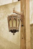 Farola metal árabe tradicional — Foto de Stock