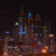 Dubai Marinat night. United Arab Emirates — Stock Photo #32572459