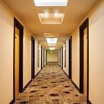 Hotel corridor — Stock Photo #32868417