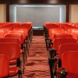 Empty conference hall — Stock Photo