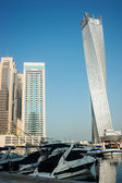 Yacht Club in Dubai Marina — Stock Photo