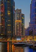 General view of the Dubai Marina. United Arab Emirates — Stock Photo