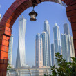 Modern buildings in Dubai Marina — Stock Photo #33479489