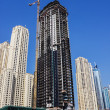Modern buildings in Dubai Marina — Stock Photo #33479581
