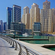 Modern buildings in Dubai Marina — Stock Photo #33479643
