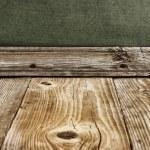 Old wooden floor — Stock Photo