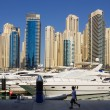 Yacht Club in Dubai Marina — Stock Photo #33791805