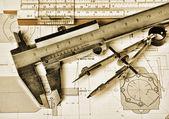 Engineering tools — Stock Photo