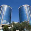 Deira Twin Towers — Stock Photo