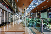 Interior metro station — Stock Photo