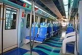 地下鉄の列車の内部 — ストック写真