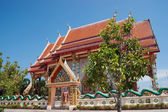 Buddhist temple in the south of Thailand — Stok fotoğraf